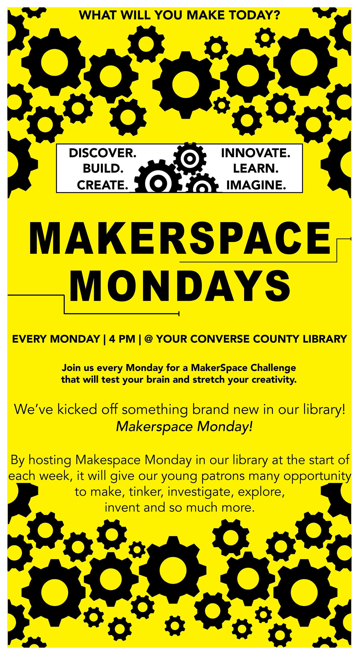 MakerSpaceMonday