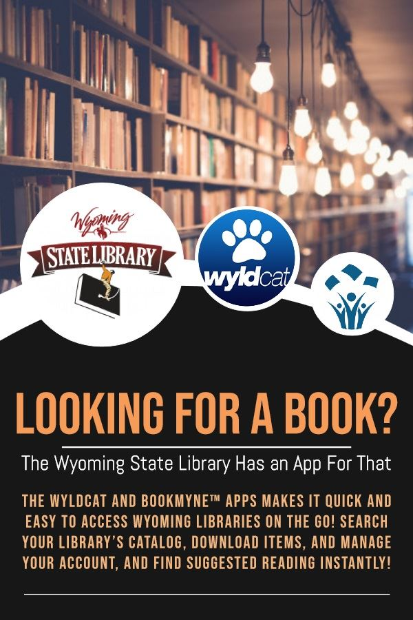 Wyo State Library News Flash Graphic